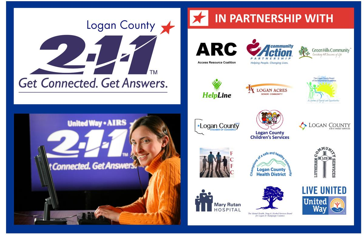 211 service now available in logan county | united way of logan county
