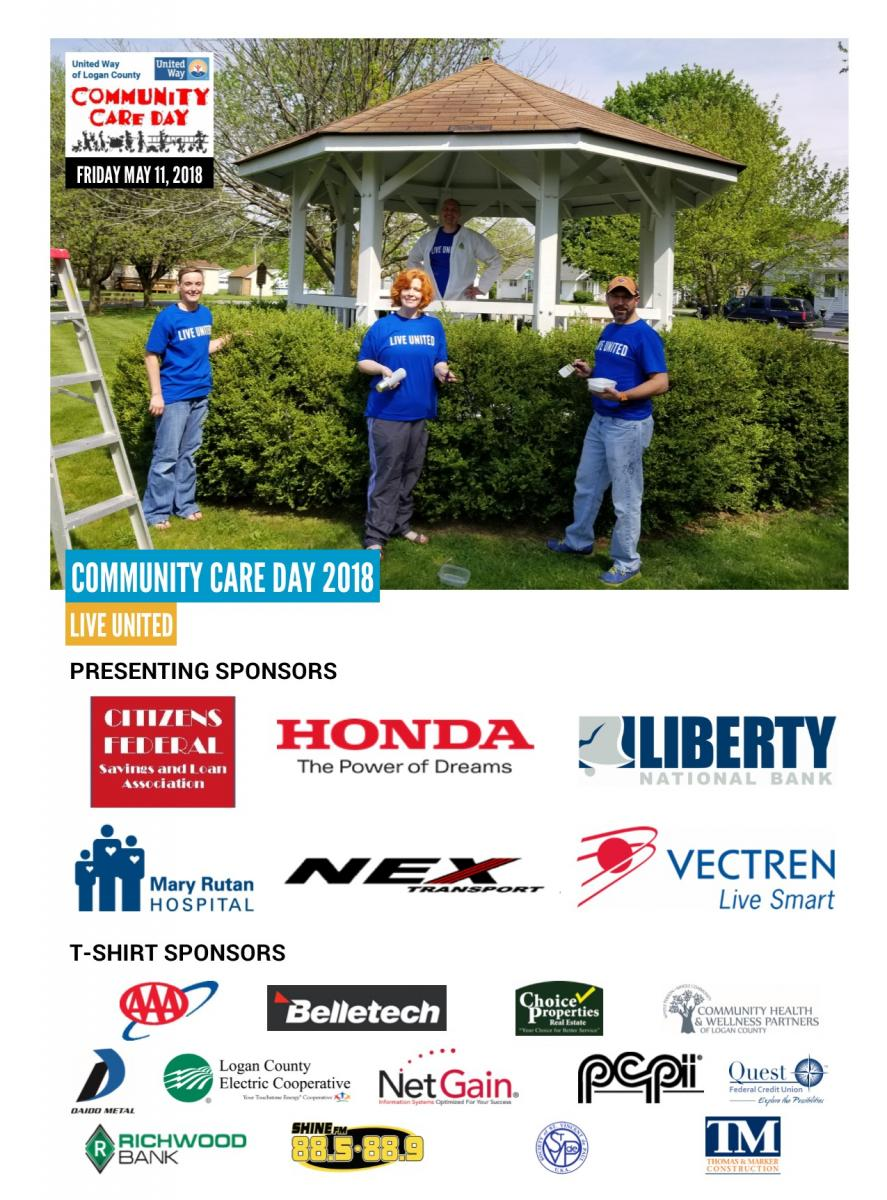Community Care Day   United Way of Logan County